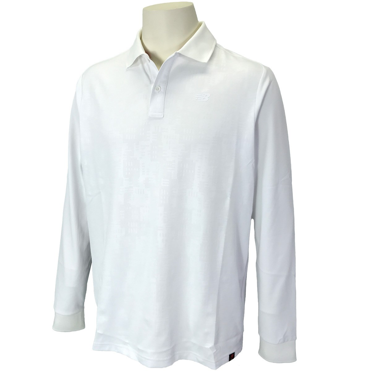 ニューバランス New Balance SPORT 長袖ポロシャツ 6 ホワイト 030