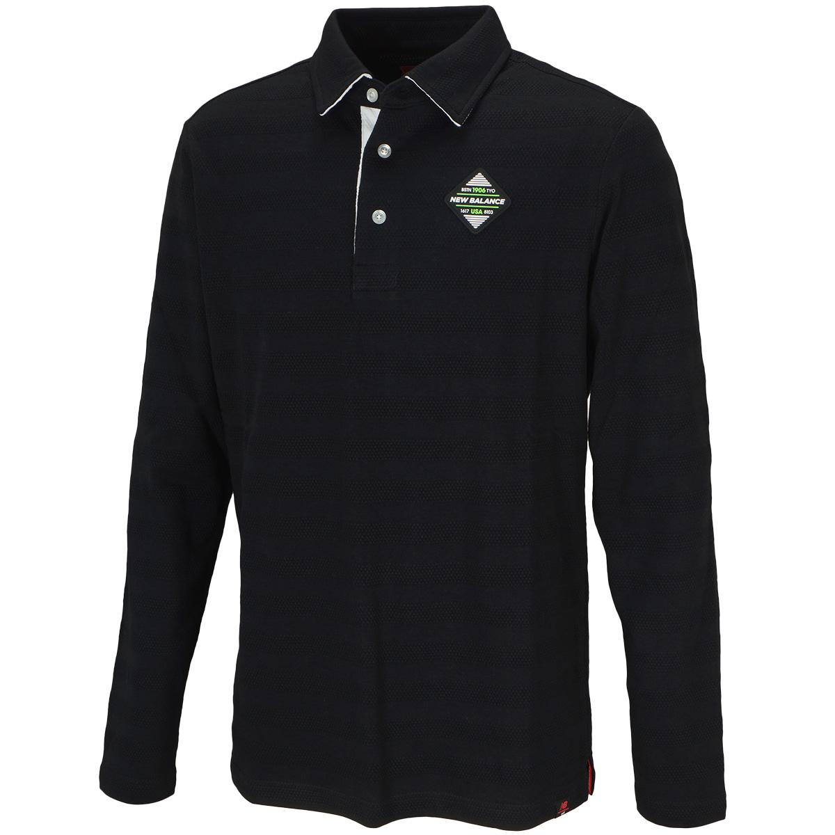 METRO カラー 長袖ポロシャツ