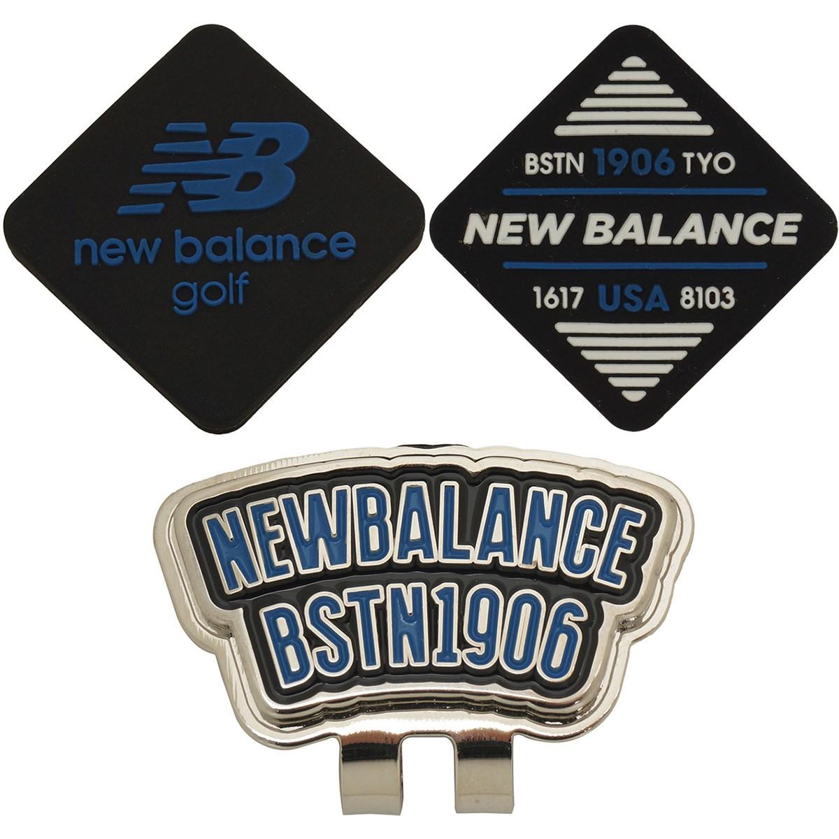 [2020年モデル] ニューバランス New Balance METRO リバーシブル シリコンクリップマーカー ブラック 010 メンズ ゴルフ