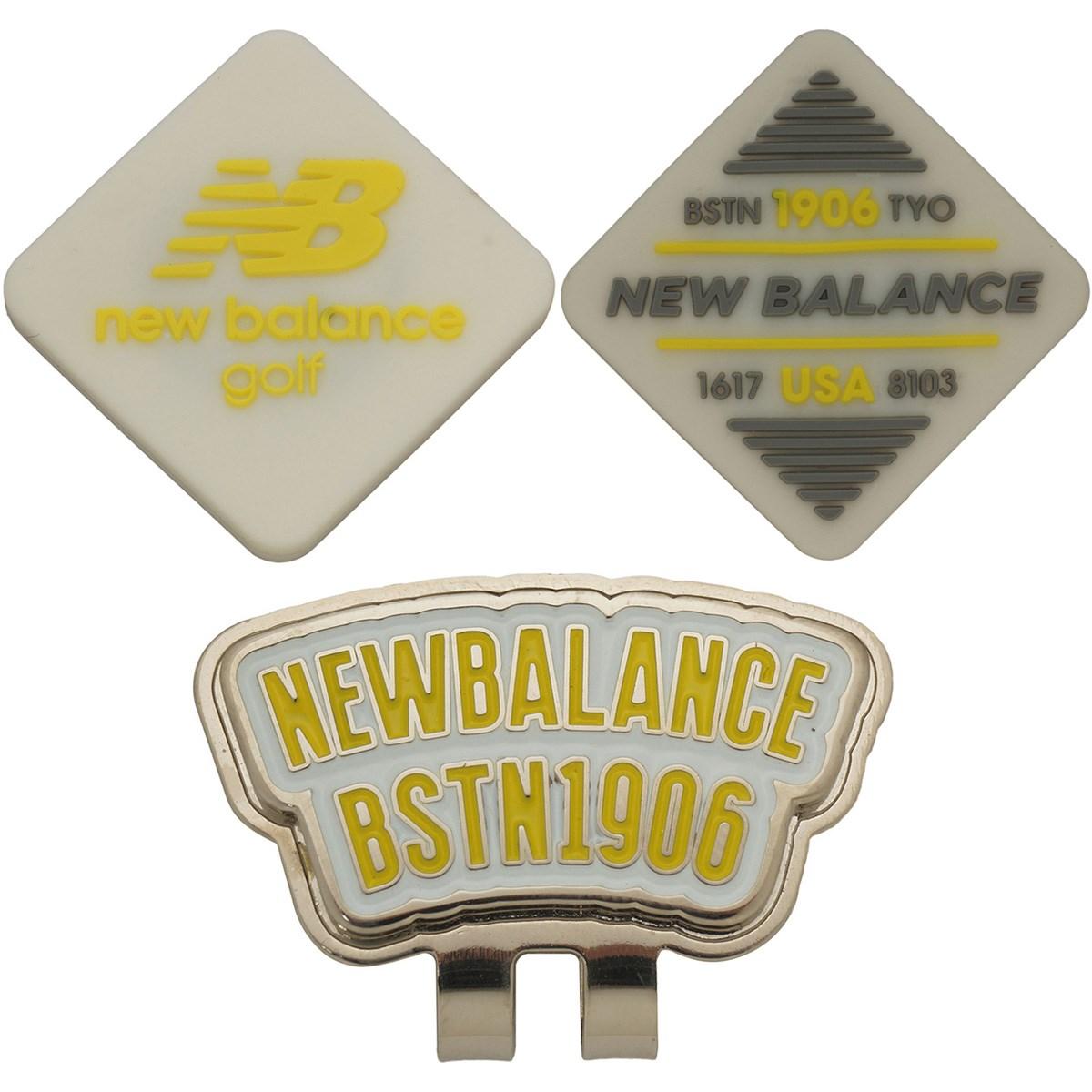 ニューバランス New Balance METRO リバーシブル シリコンクリップマーカー ホワイト 030
