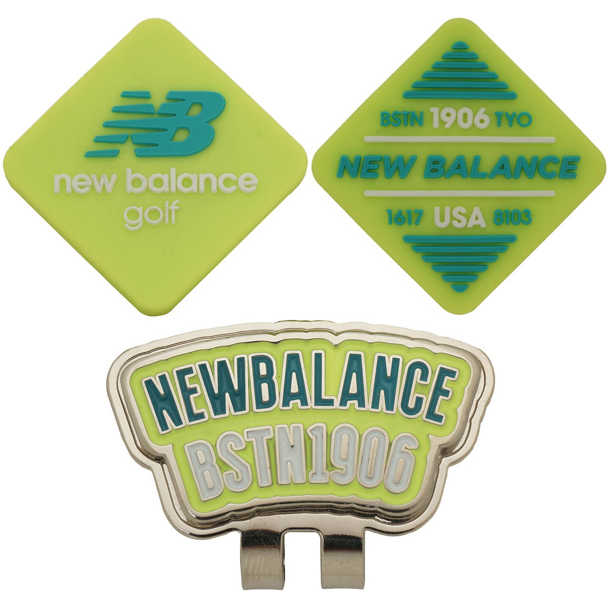 ニューバランス New Balance METRO リバーシブル シリコンクリップマーカー イエロー 060