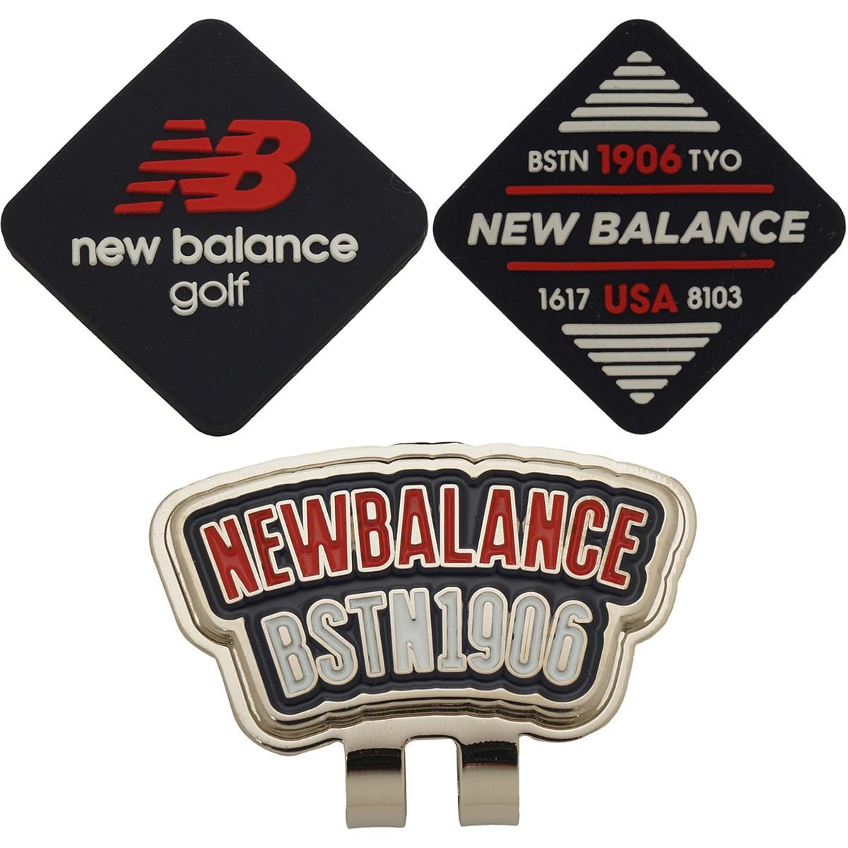 ニューバランス New Balance METRO リバーシブル シリコンクリップマーカー ネイビー 120