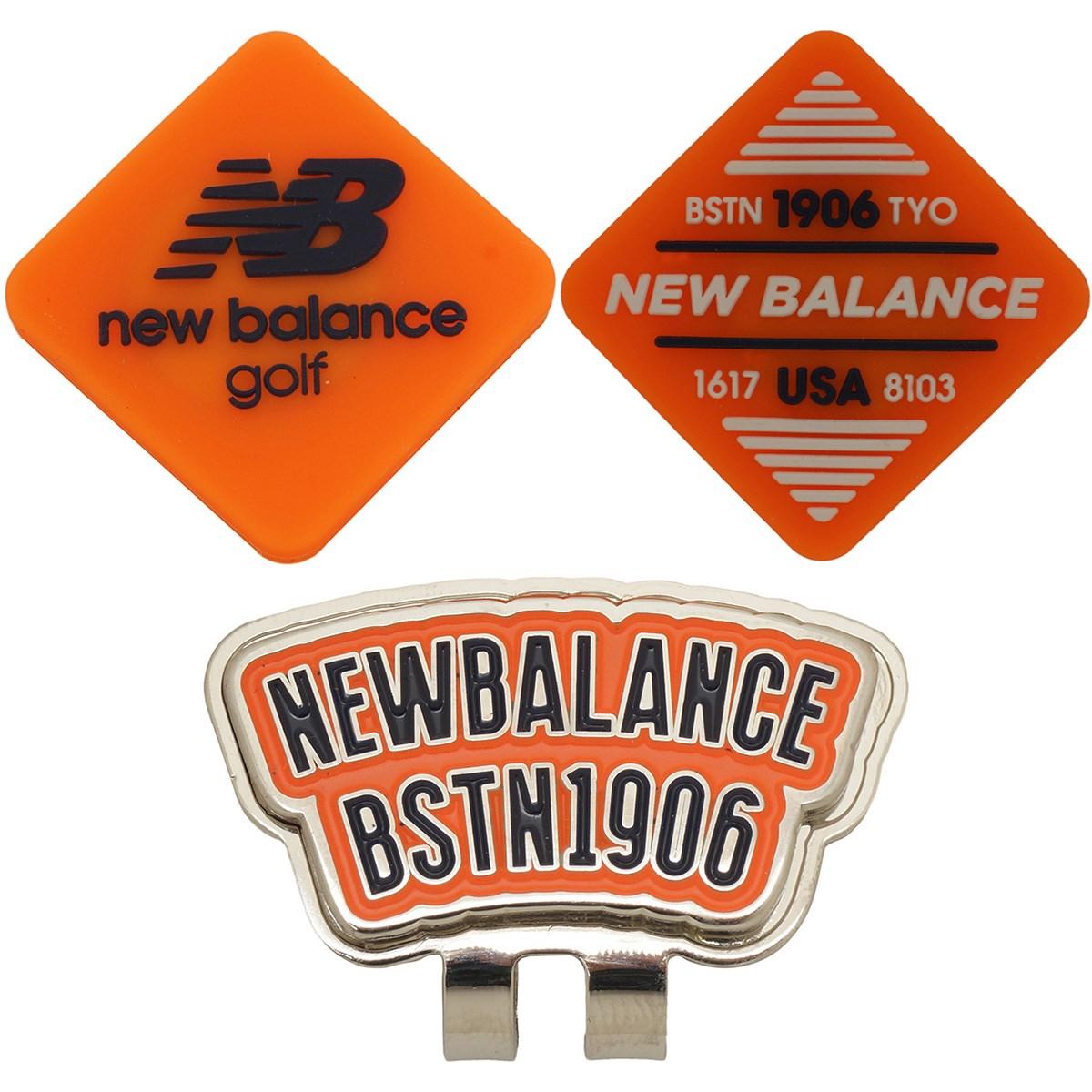 ニューバランス New Balance METRO リバーシブル シリコンクリップマーカー オレンジ 153