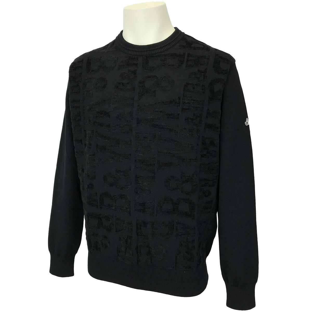 クールネックセーター