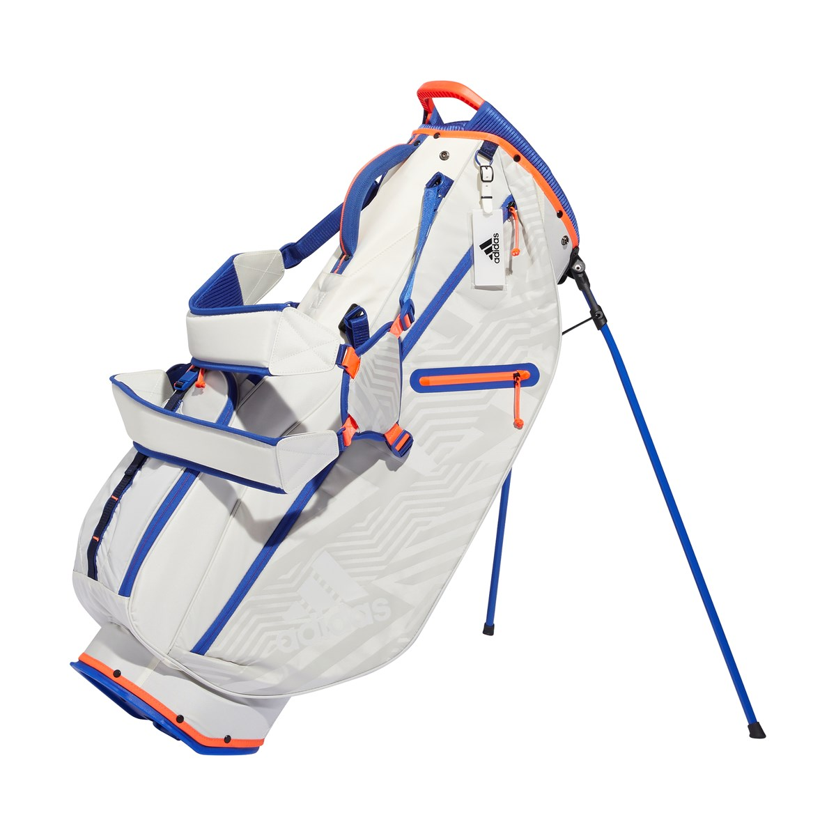 アディダス Adidas スポーツ スタンドキャディバッグ オフホワイト