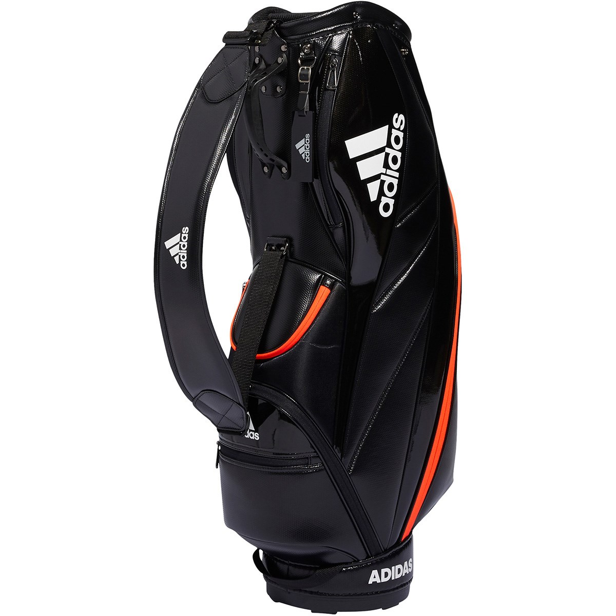 アディダス Adidas ライトウェイトキャディバッグ ブラック/ホワイト
