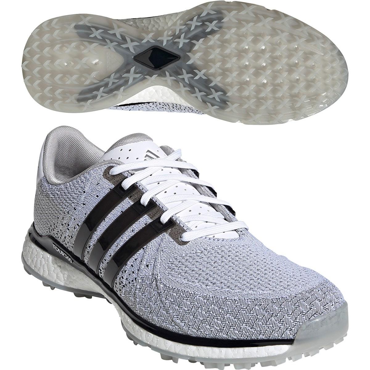 アディダス Adidas ツアー360 XT-SL テキスタイル シューズ 25cm ホワイト/コアブラック/グレートゥー