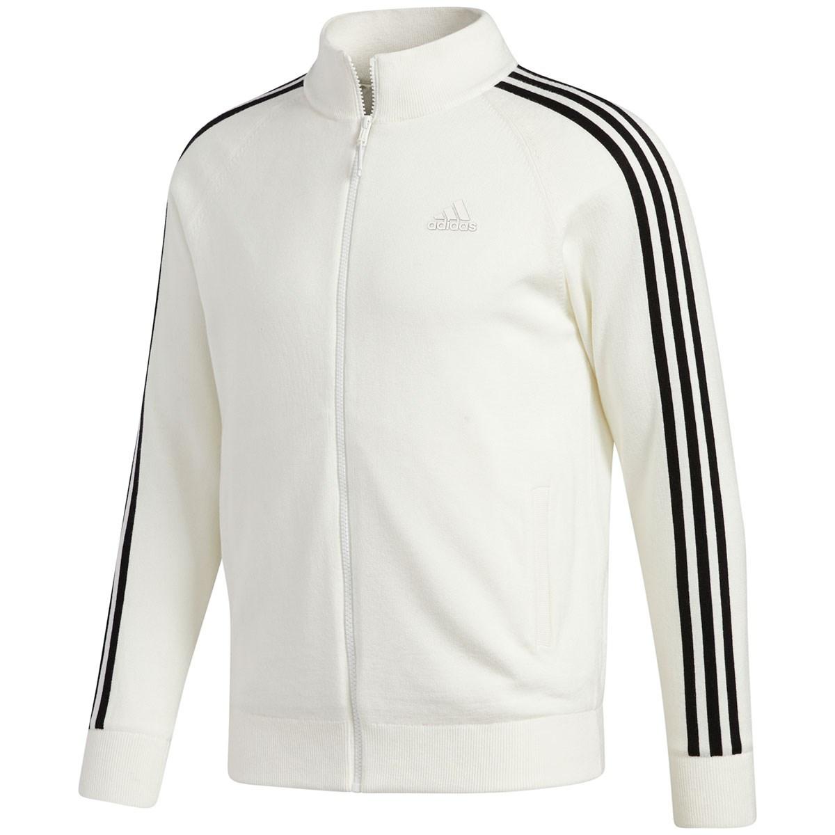 アディダス(adidas) スリーストライプス ライニングフルジップセーター