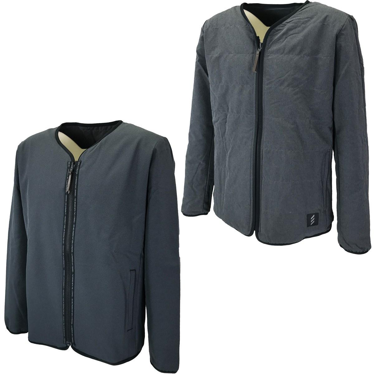 アディダス Adidas ADICROSS リバーシブルストレッチ長袖ジャケット J/M ブラック