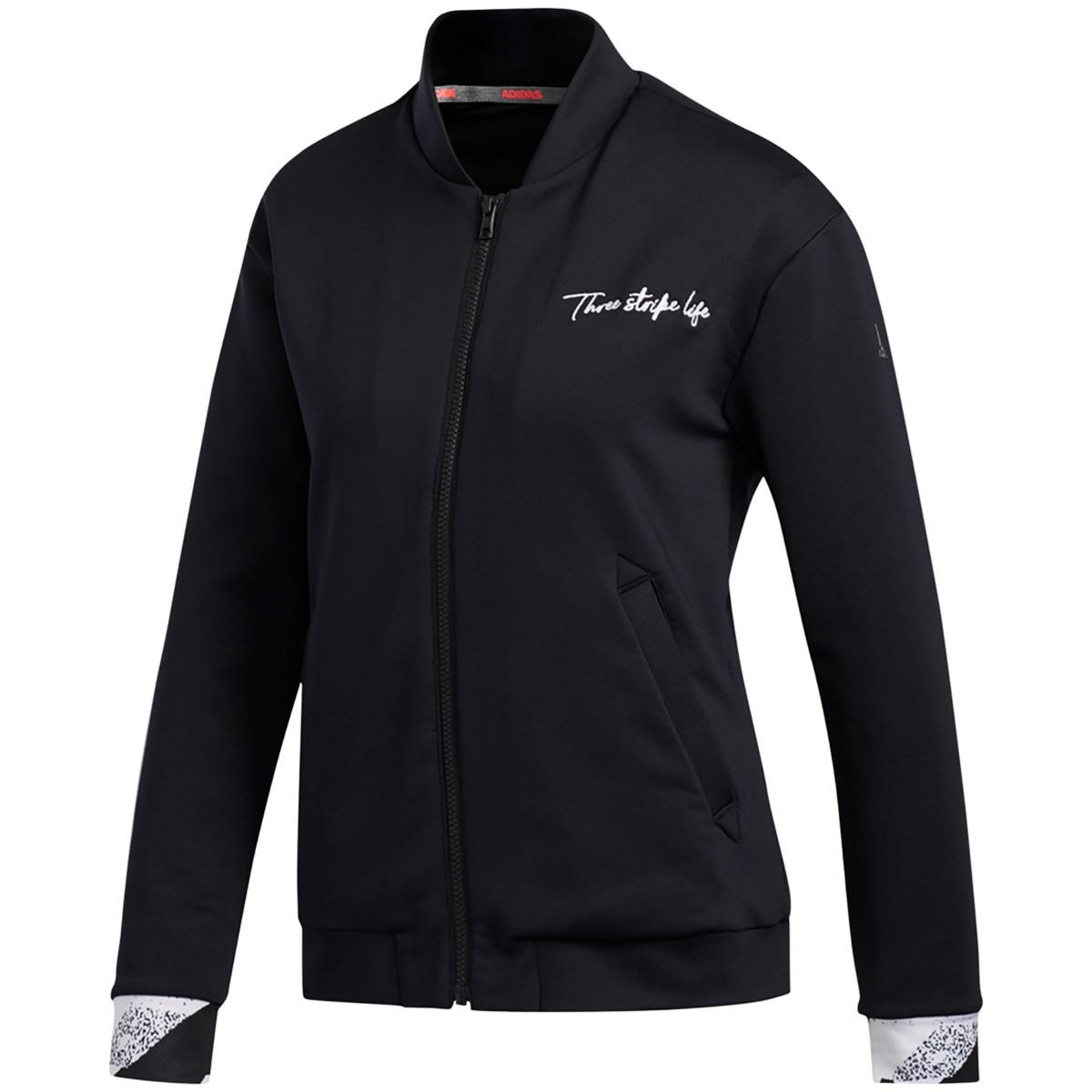 アディダス Adidas ジオメトリックプリント ストレッチ ライニングスウェット J/L ブラック レディス