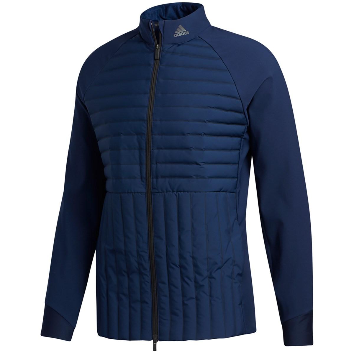 アディダス Adidas FROSTGUARD ストレッチフルジップジャケット J/S カレッジネイビー