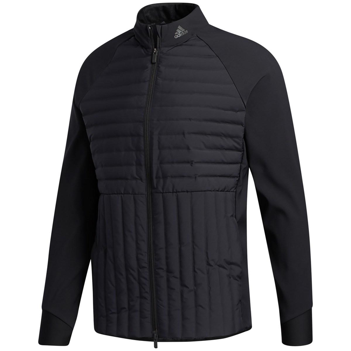 アディダス Adidas FROSTGUARD ストレッチフルジップジャケット J/O ブラック