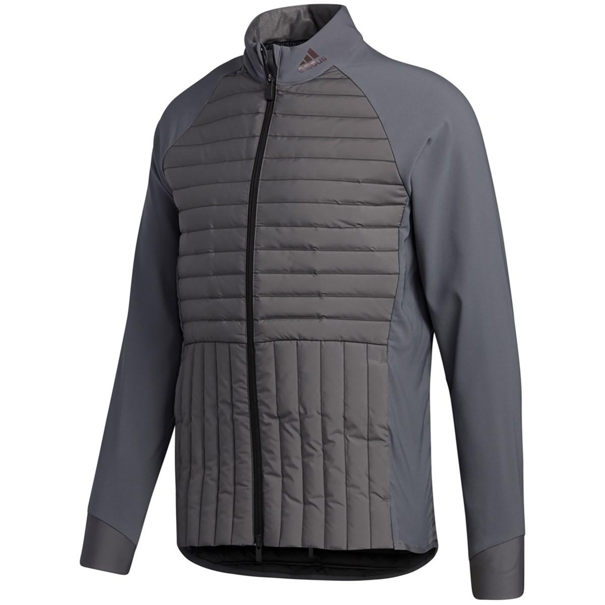 アディダス Adidas FROSTGUARD ストレッチフルジップジャケット J/S グレーフォー