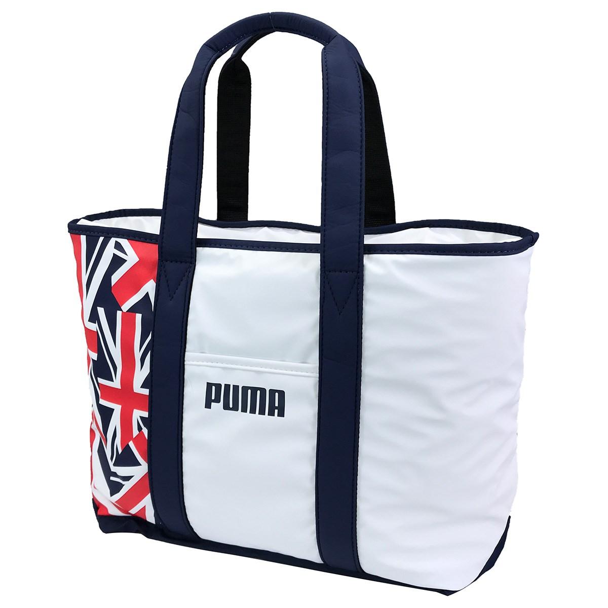 プーマ PUMA ユニオンジャック トートバッグ ブライトホワイト 03