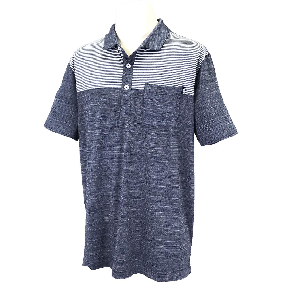クラウドスパン ポケット 半袖ポロシャツ【USモデル】