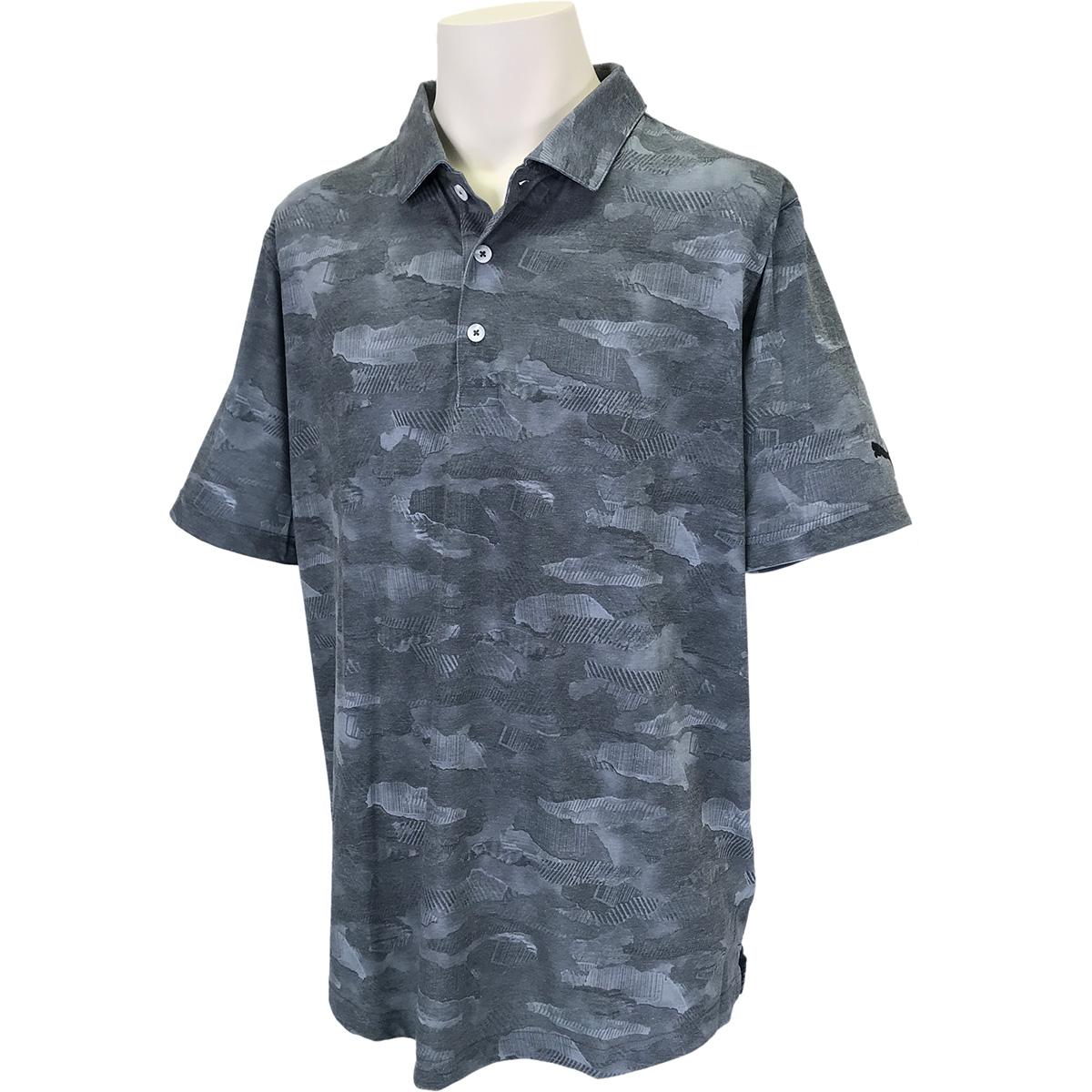 ソラライズド カモ 半袖ポロシャツ