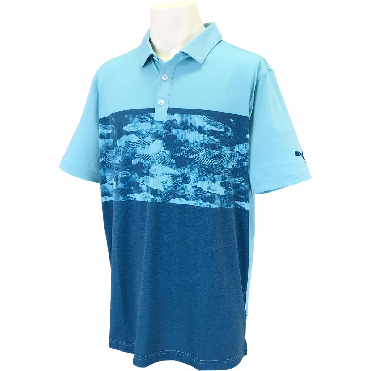 カモブロック 半袖ポロシャツ