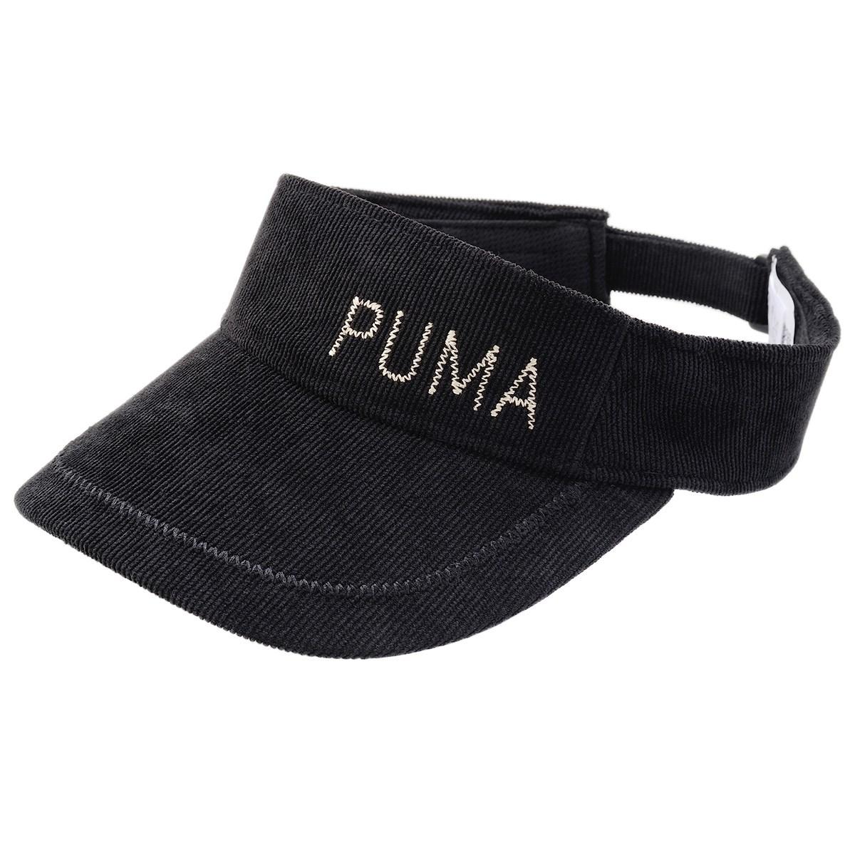 プーマ PUMA シーズナル サンバイザー フリー プーマブラック 01 レディス