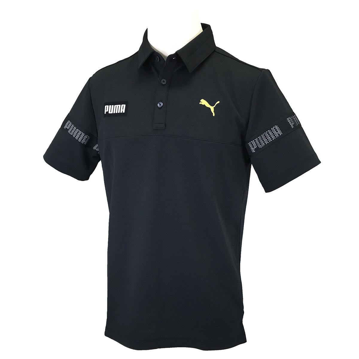 カラーブロック 半袖ポロシャツ