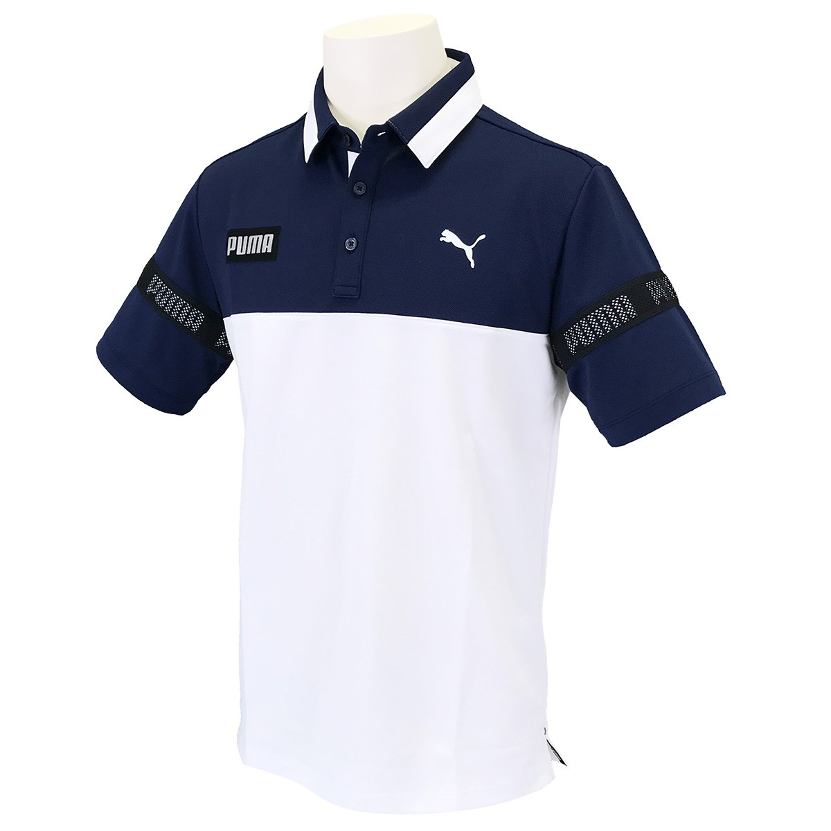 プーマ PUMA カラーブロック 半袖ポロシャツ XL ピーコート 02