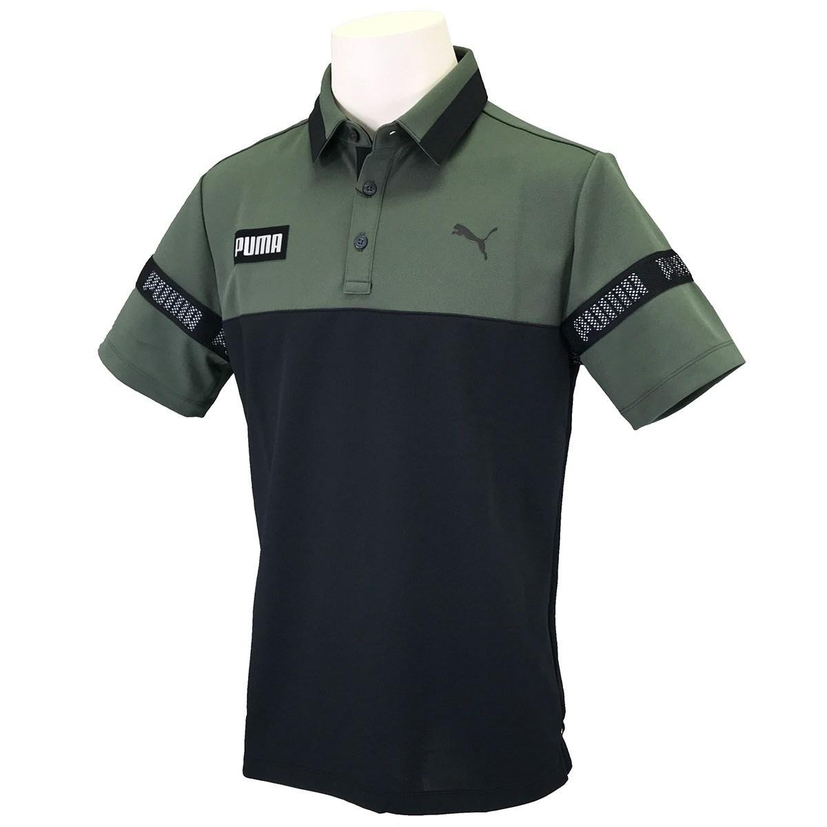 プーマ PUMA カラーブロック 半袖ポロシャツ S タイム 03