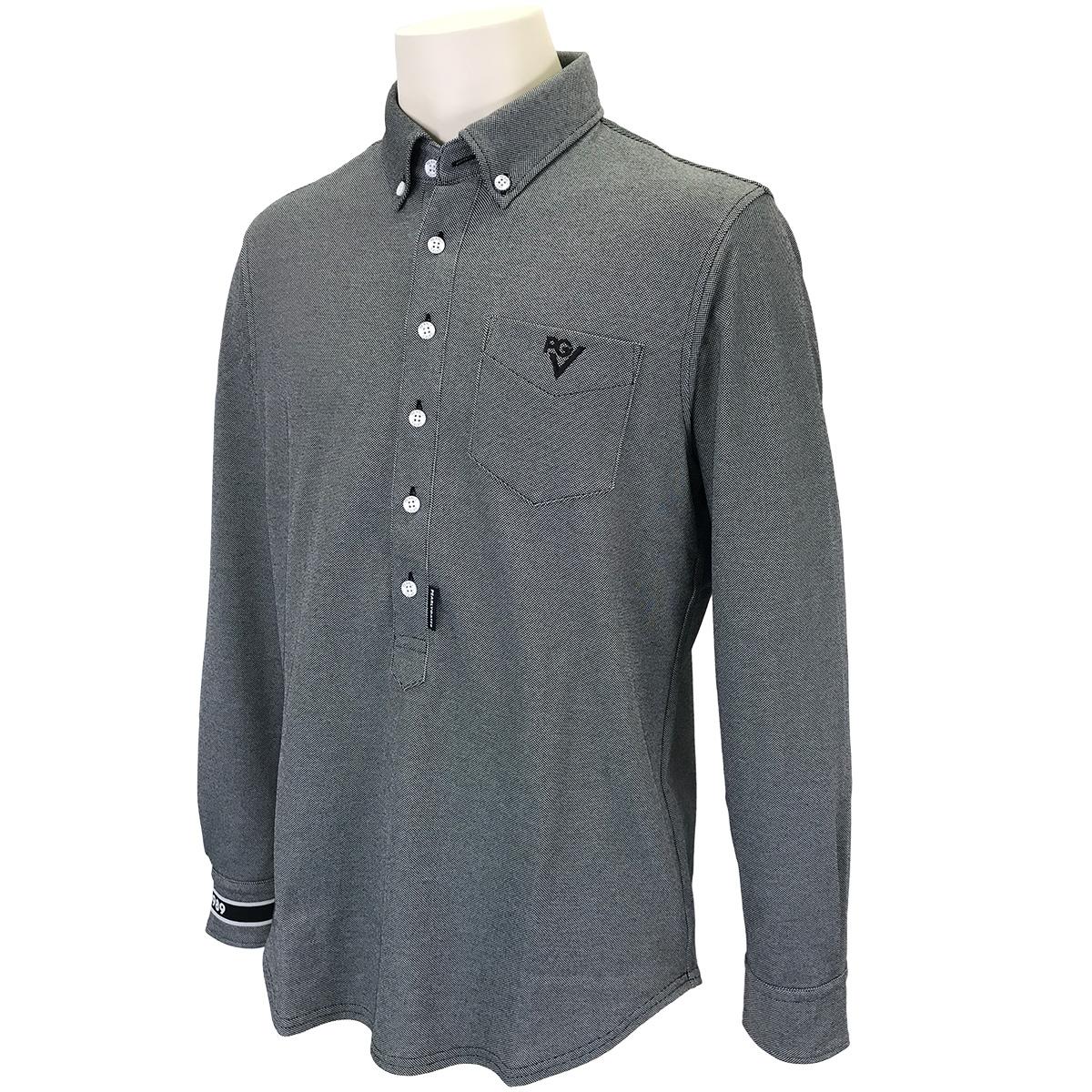 ドライマスター 鹿の子長袖ポロシャツ