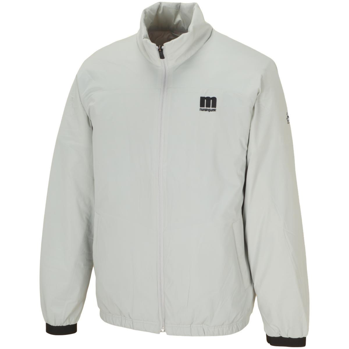 マンシングウェア Munsingwear ENVOY ストレッチ ENVOY カッティング中綿ブルゾン L グレー 00