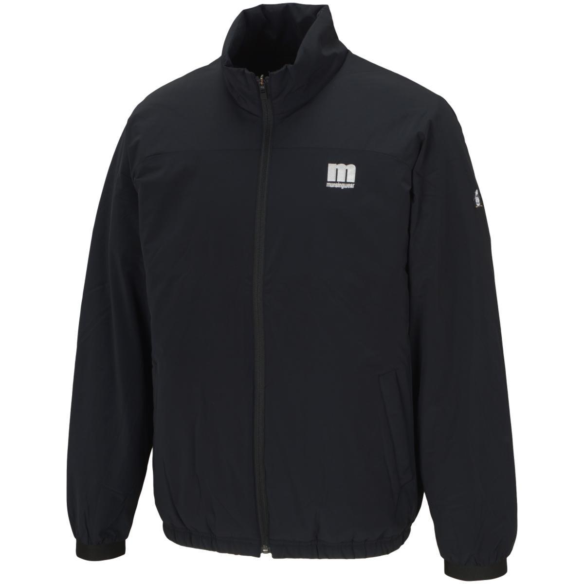 マンシングウェア Munsingwear ENVOY ストレッチ ENVOY カッティング中綿ブルゾン M ブラック 00