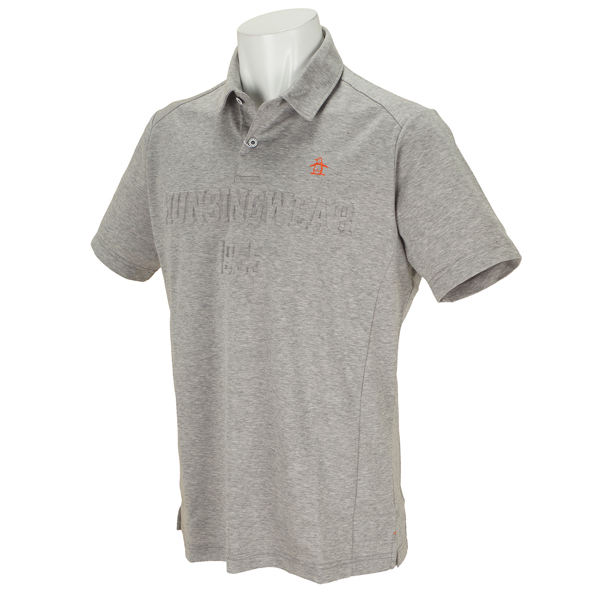 SUNSCREENデボスロゴ半袖ポロシャツ