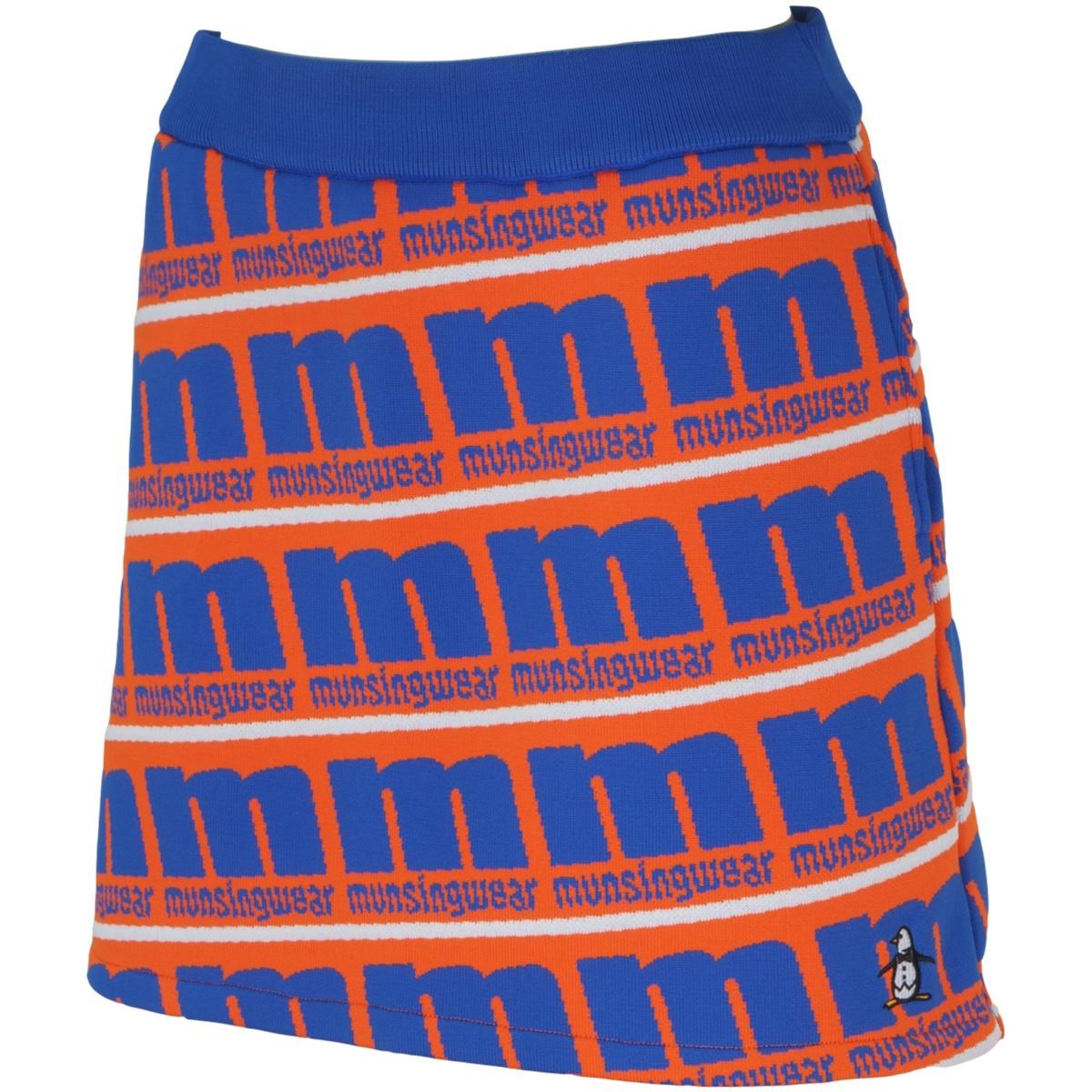 マンシングウェア Munsingwear ENVOY ロゴニットスカート LL ブルー 00 レディス
