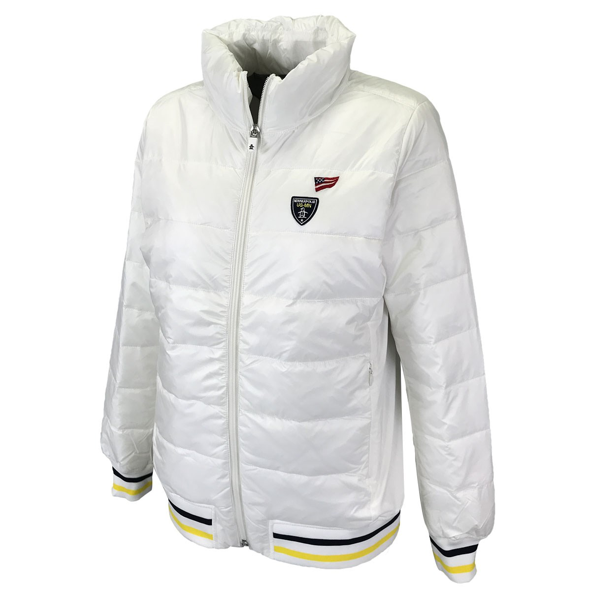 マンシングウェア Munsingwear プリマロフト中綿ブルゾン LL ホワイト 00 レディス