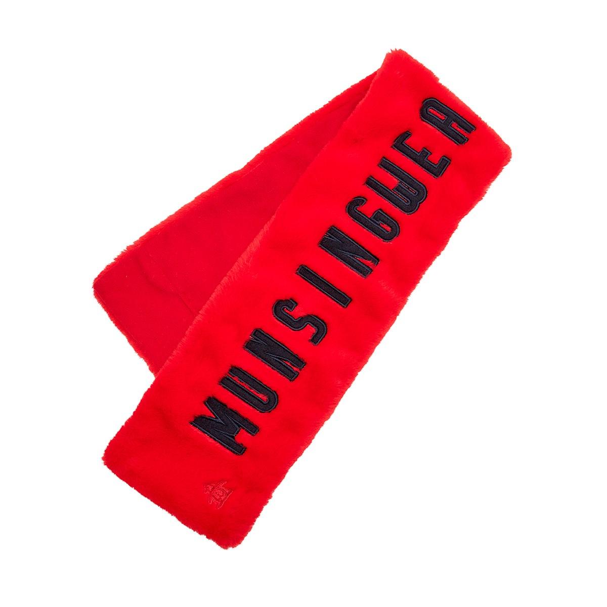 マンシングウェア Munsingwear コンパクトマフラー レッド 00 フリー レディス