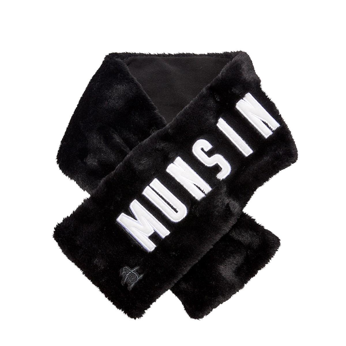 マンシングウェア Munsingwear コンパクトマフラー ブラック 00 フリー レディス