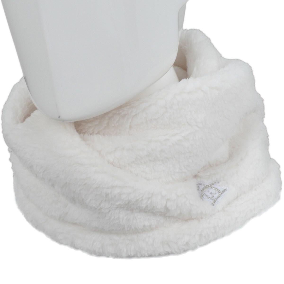 マンシングウェア Munsingwear スクリュータイプネックウォーマー ホワイト 00 フリー レディス