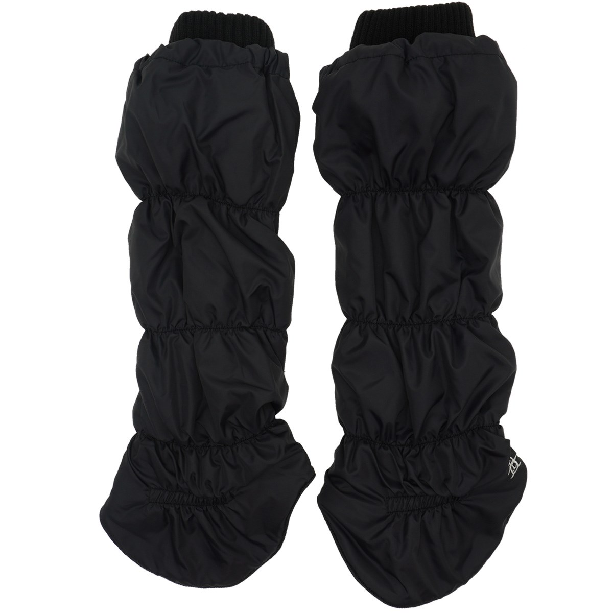 [定番モデル] マンシングウェア Munsingwear キルトタイプレッグウォーマー ブラック 00 レディース ゴルフウェア