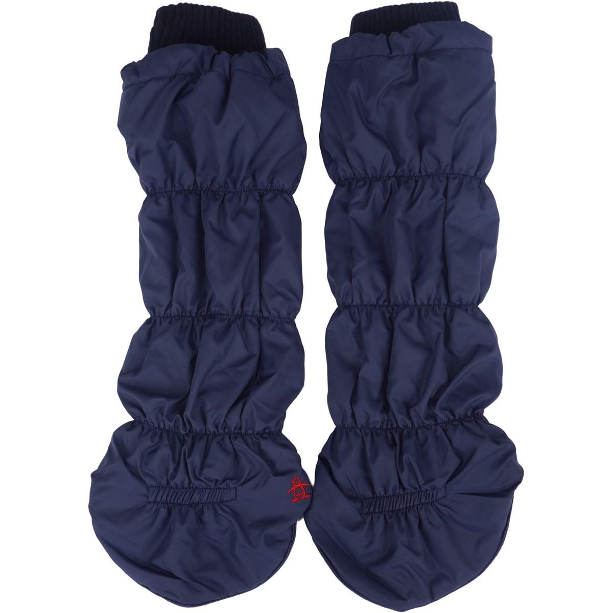 [定番モデル] マンシングウェア Munsingwear キルトタイプレッグウォーマー ネイビー 00 レディース ゴルフウェア