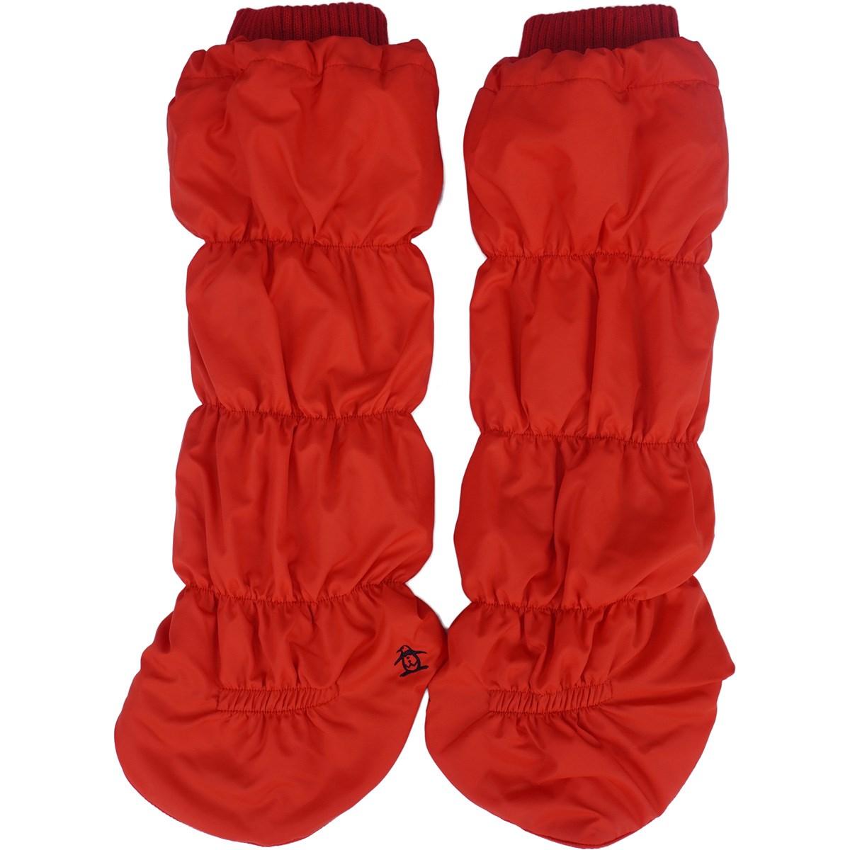 [定番モデル] マンシングウェア Munsingwear キルトタイプレッグウォーマー レッド 00 レディース ゴルフウェア