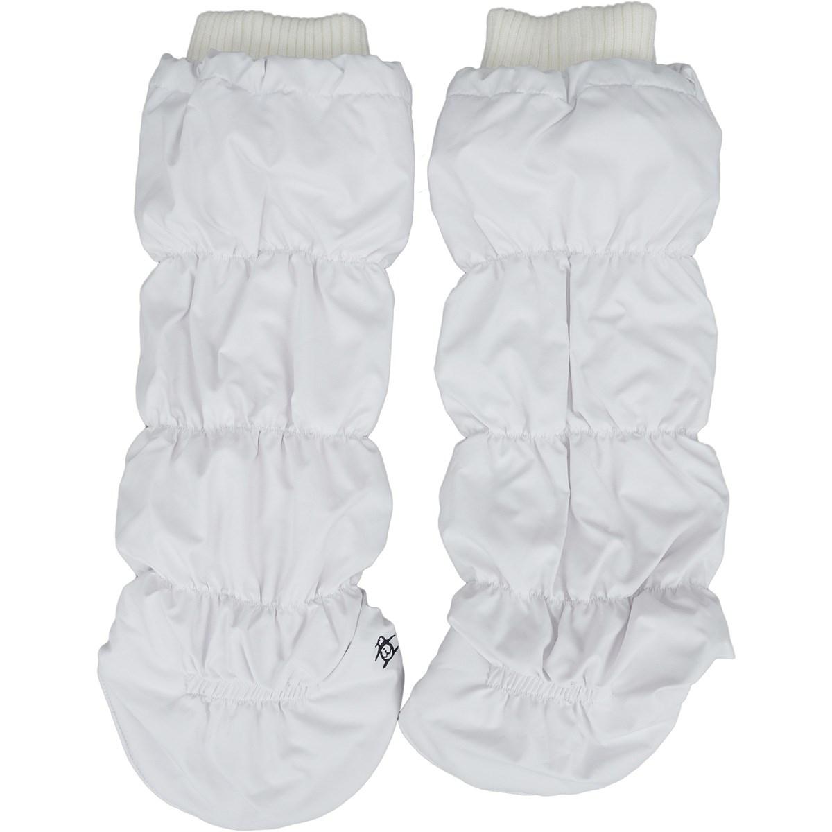 [定番モデル] マンシングウェア Munsingwear キルトタイプレッグウォーマー ホワイト 00 レディース ゴルフウェア