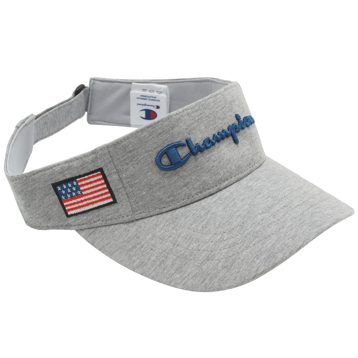 チャンピオンゴルフ Champion GOLF スウェット サンバイザー フリー オックスフォードグレー 070