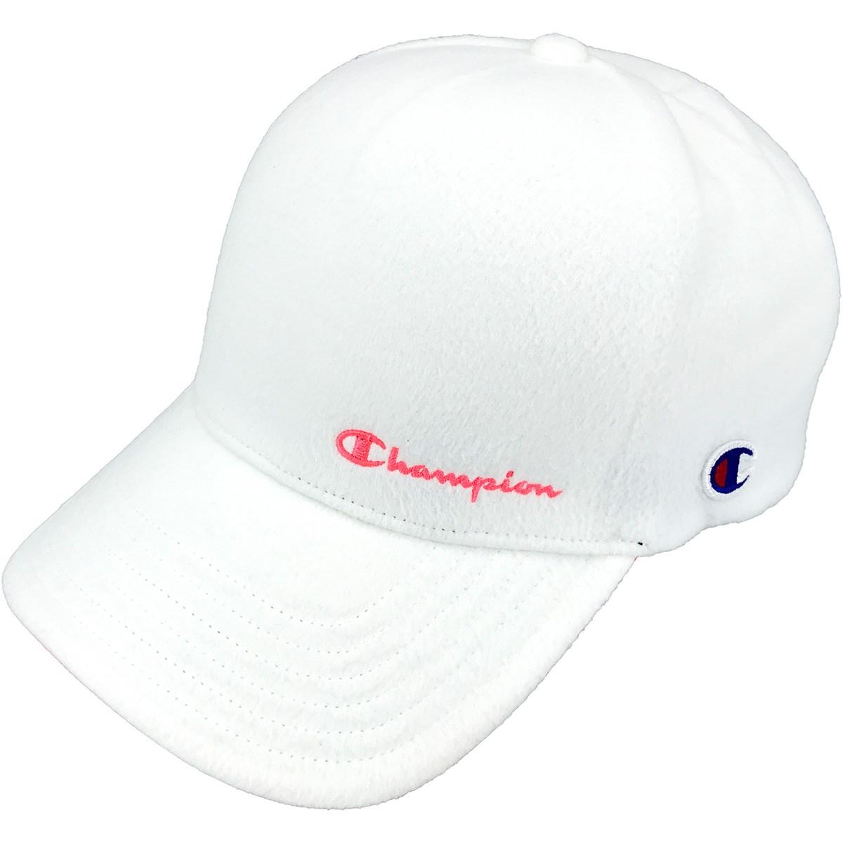 チャンピオンゴルフ Champion GOLF フリースキャップ フリー ホワイト 010 レディス