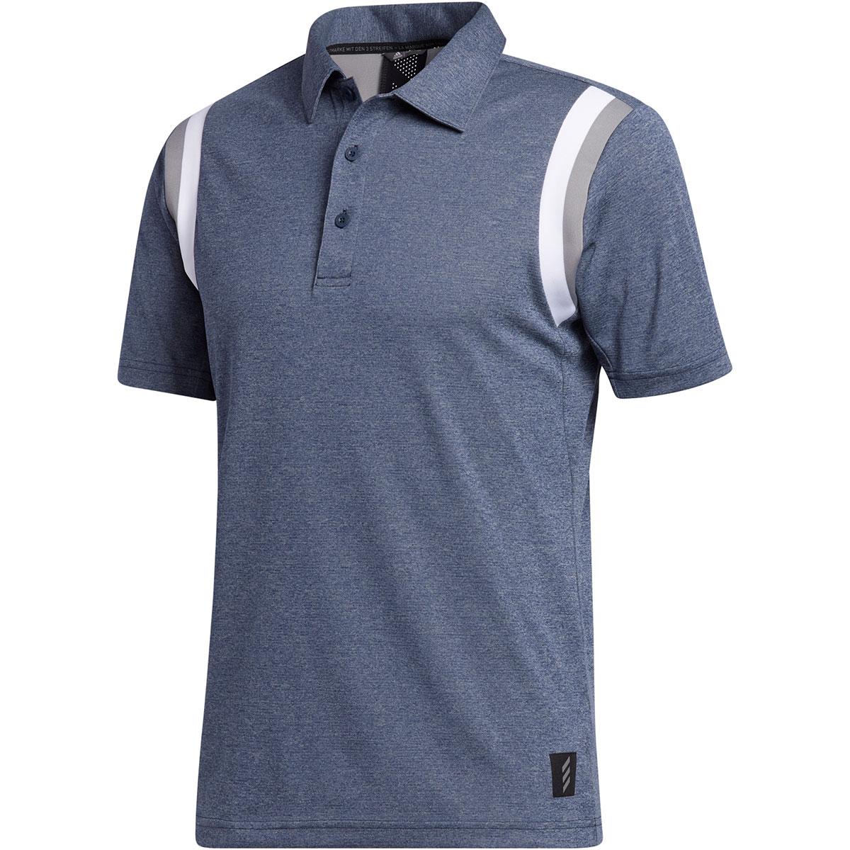 ADICROSS ラインド半袖ポロシャツ