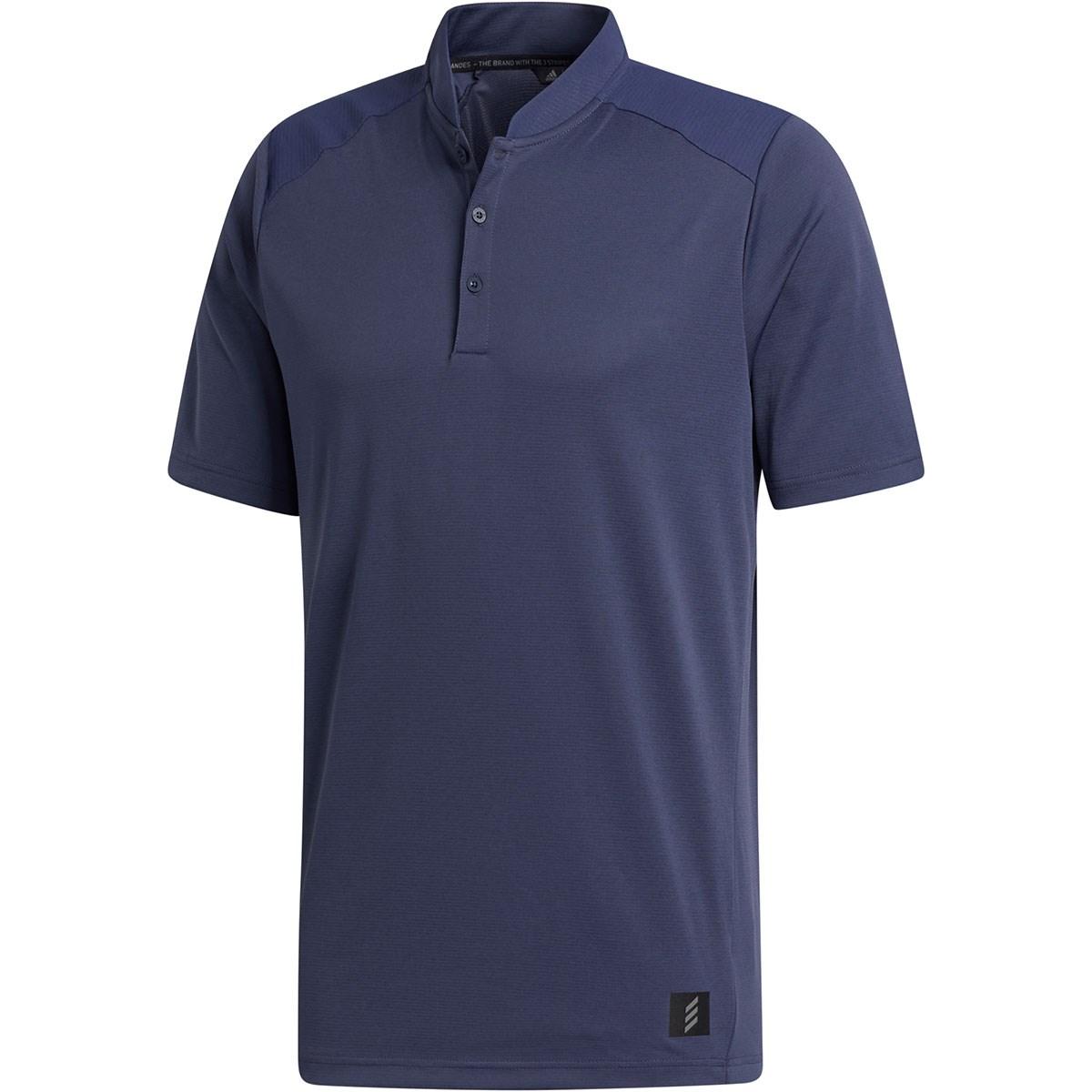 アディダス Adidas ADICROSS 半袖ヘンリーネックシャツ S ミディアムグレー