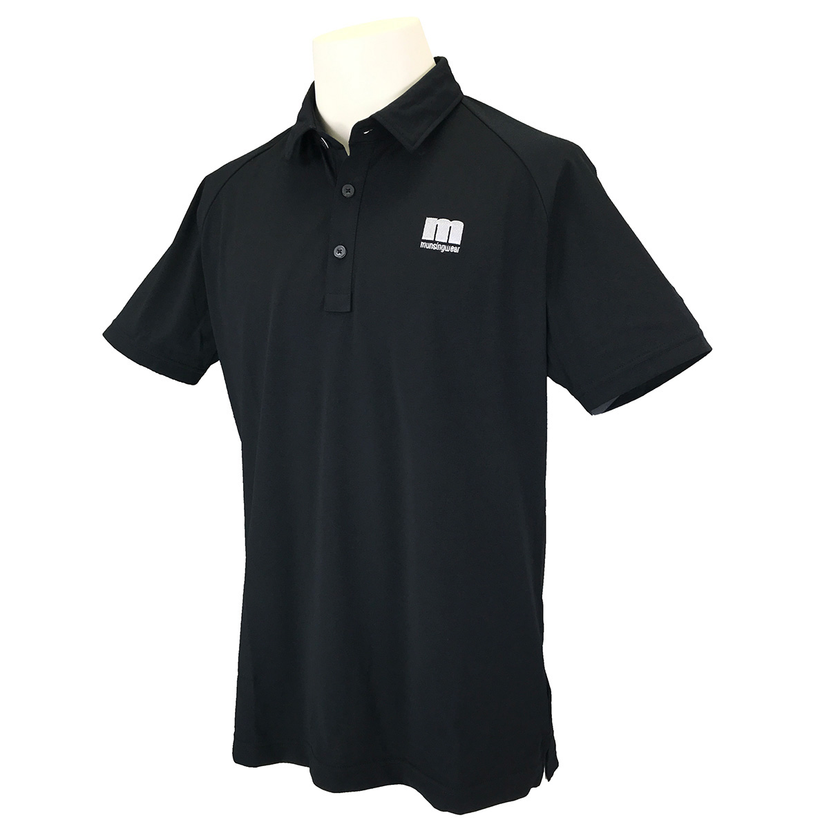 バックロゴENVOYカッティング ストレッチ 半袖ポロシャツ