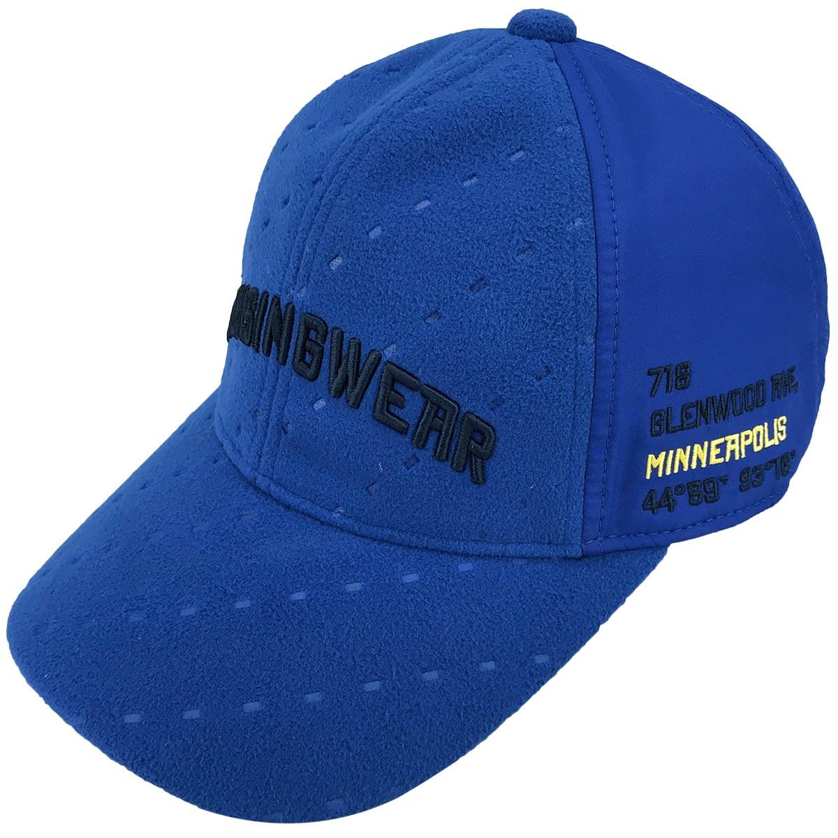 マンシングウェア Munsingwear 耳当て収納キャップ フリー ブルー 00
