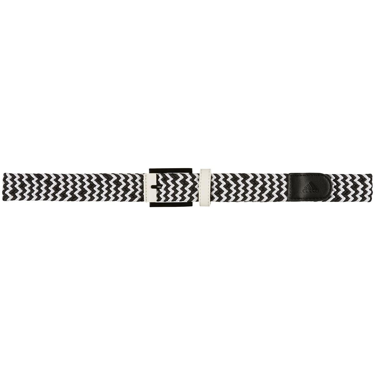 アディダス Adidas ウェビングメッシュベルト フリー ホワイト/ブラック レディス
