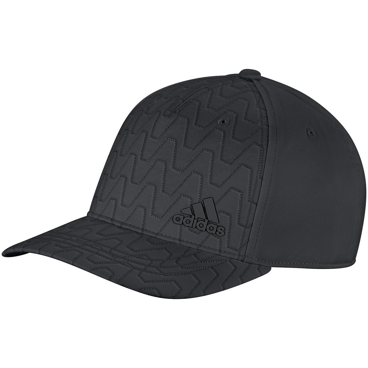 アディダス Adidas キルティングウォームキャップ フリー ブラック