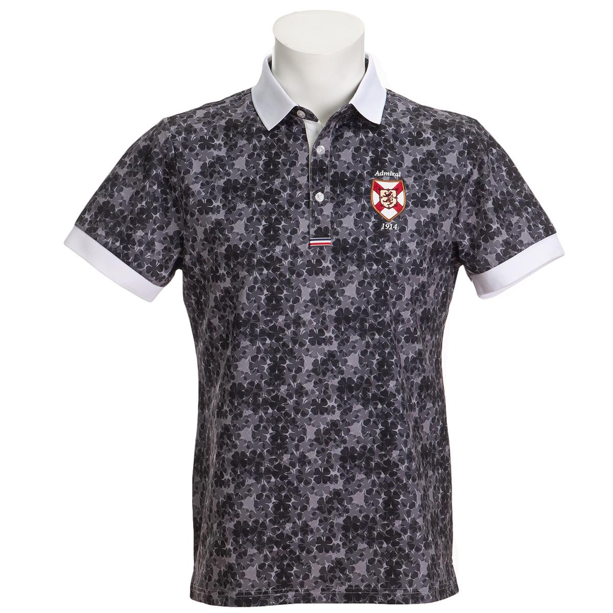 ストレッチ シャムロック 半袖ポロシャツ