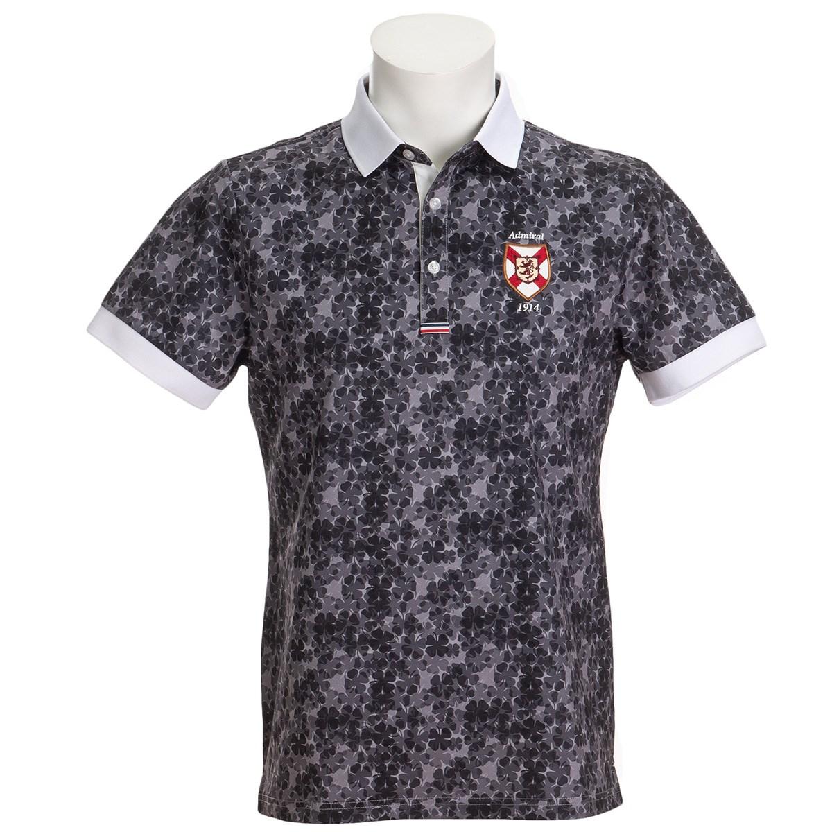 アドミラル ストレッチ シャムロック 半袖ポロシャツ