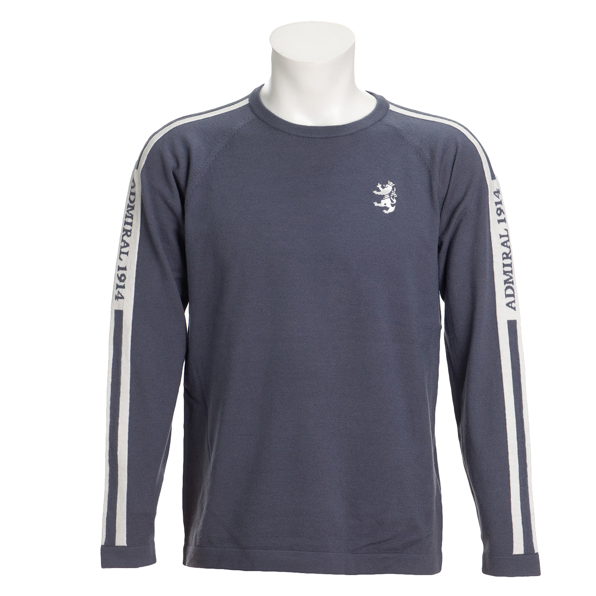 ロゴ ストレッチクルーネックセーター