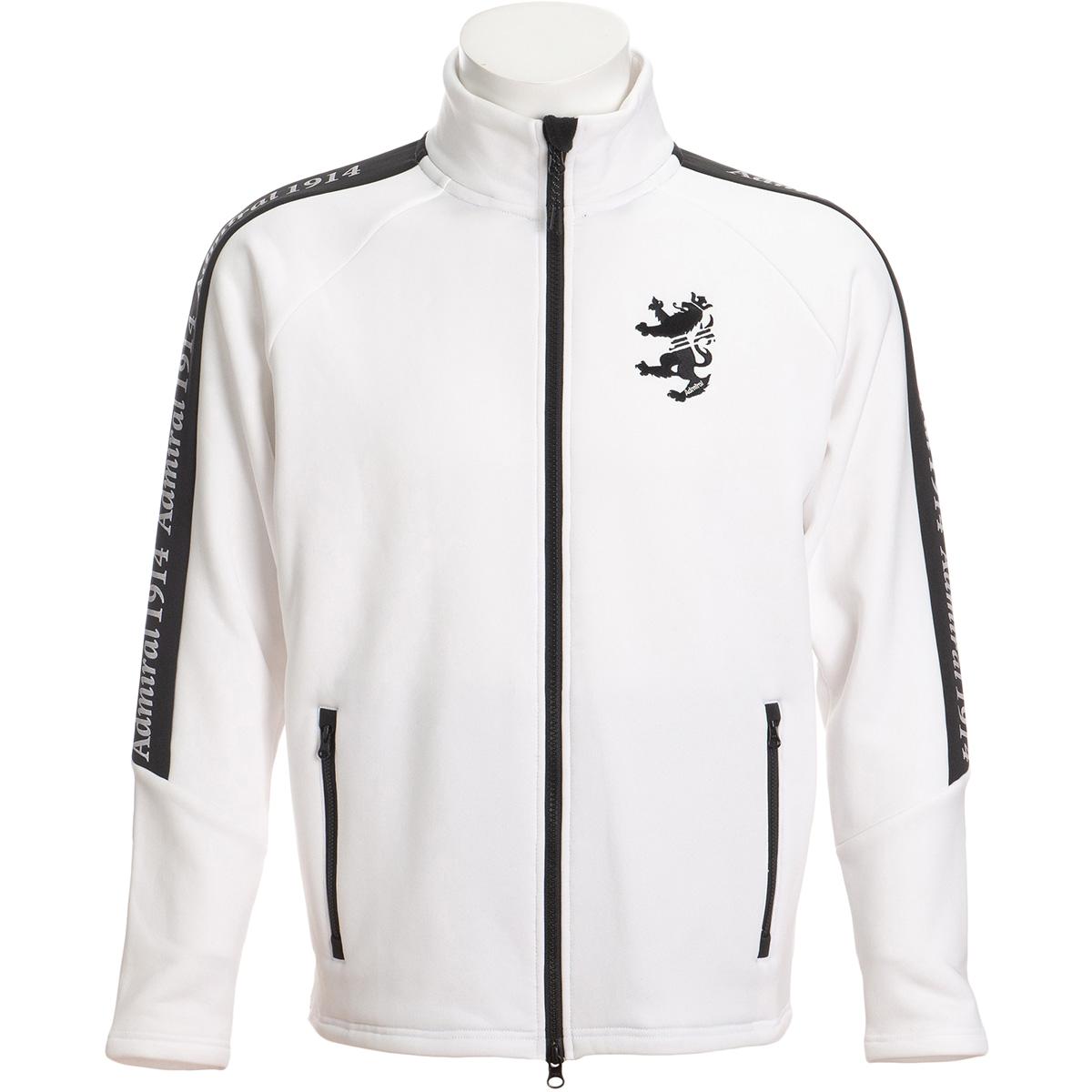ロゴ ストレッチフリースジャケット